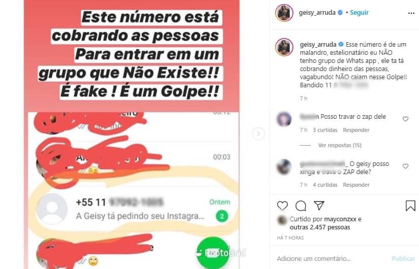 Geisy Arruda (Foto: Reprodução/ Instagram)