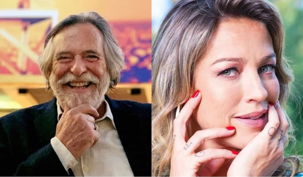 José de Abreu e Luana Piovani (Reprodução)