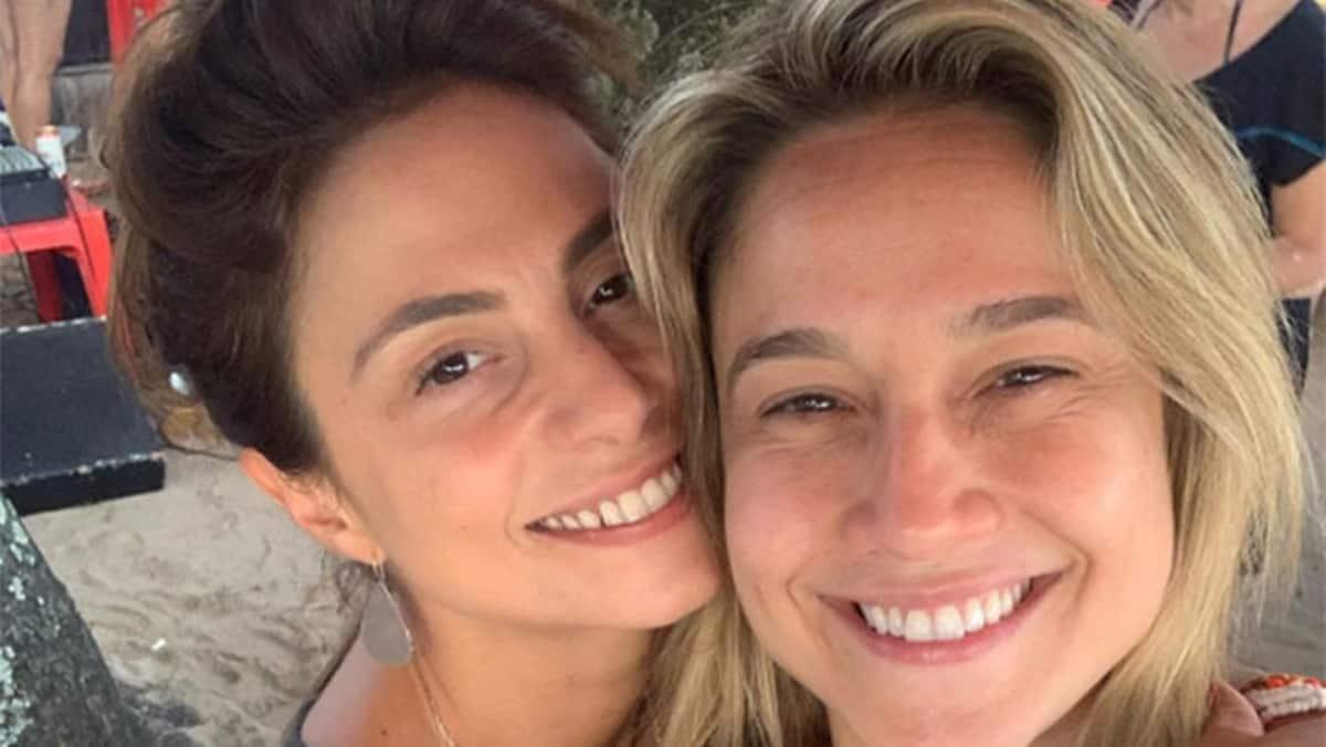 Fernanda Gentil se sua esposa, Priscila Montandon (Reprodução/Instagram)