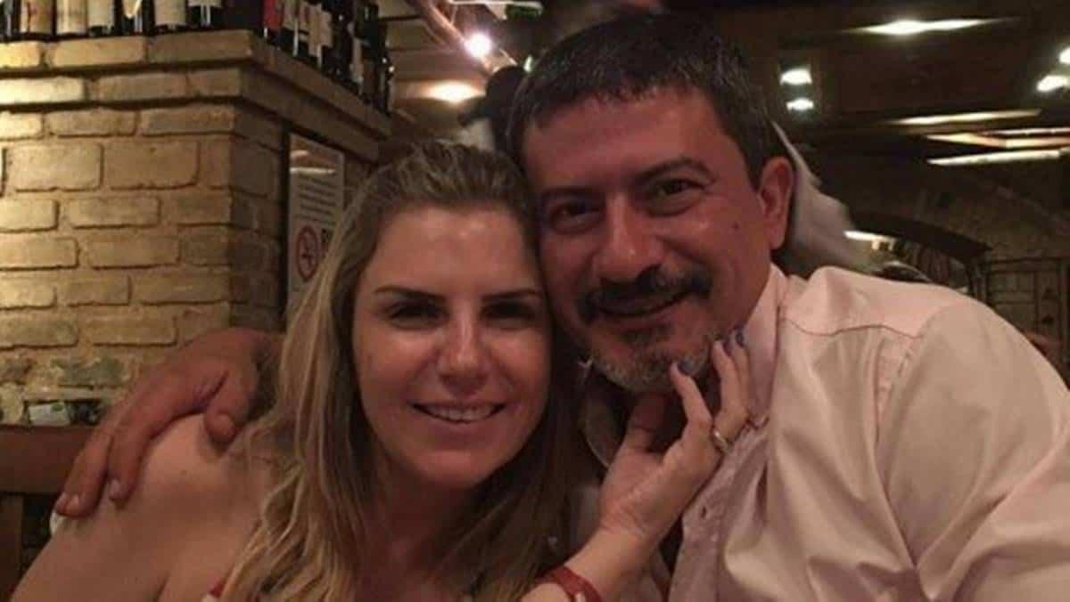 Alessandra e Tom Veiga (Foto: Reprodução)