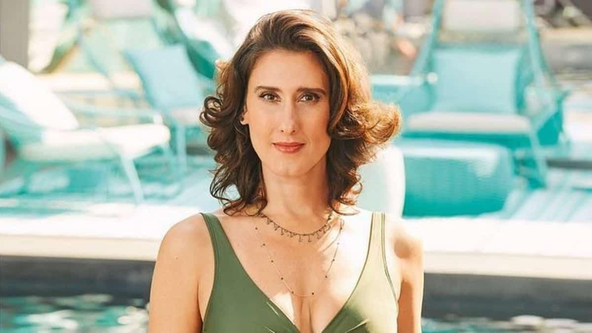 Paola Carosella, jurada do programa Masterchef (Reprodução)