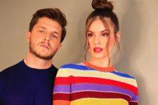 Camila Queiroz e Klebber Toledo