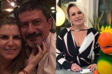 Alessandra Veiga, Tom Veiga e Ana Maria Braga