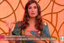 A apresentadora Fátima Bernardes no Encontro (Imagem: Reprodução/TV Globo)