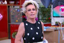 Ana Maria Braga recebeu surpresas de aniversário e chorou no Mais Você (Foto: Reprodução/TV Globo)