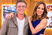 Boninho e Ana Furtado juntos; apresentadora revelou afastamento do marido por causa do trabalho (Foto: Reprodução)