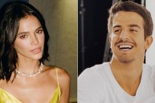 """Bruna Marquezine adotaram Enzo Celulari """"filha"""" e apresentaram na web (Foto: Reprodução/Instagram)"""