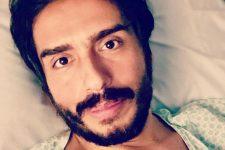 O ator Caike Luna, ex-Zorra, revelou que está com câncer (Foto: Reprodução/Instagram)