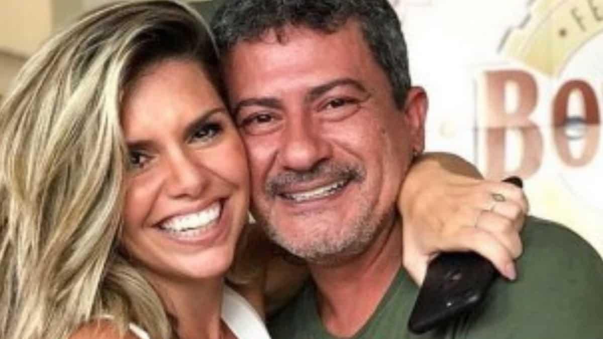 Cybelle Hermínio e Tom Veiga juntos (Foto: Reprodução/Instagram)