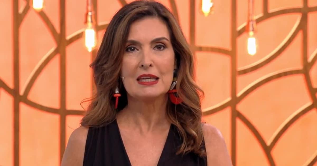 Fátima Bernardes no comando do Encontro; apresentadora fez desabafo na web (Foto: Reprodução/TV Globo)