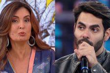Fátima Bernardes anunciou que Rodolffo Matthaus, do BBB21, será atração do Encontro (Foto: Reprodução/TV Globo)