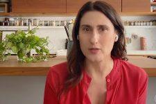 Paola Carosella em entrevista ao Conversa com Bial (Foto: Reprodução/TV Globo)