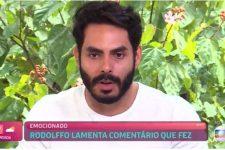 Rodolffo no Mais Você (Foto: Reprodução/TV Globo)