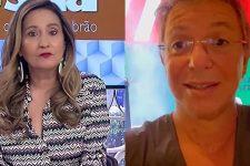 Sonia Abrão mandou presente para Boninho após pedido do diretor do BBB21 (Foto: Reprodução/RedeTV! e Instagram)