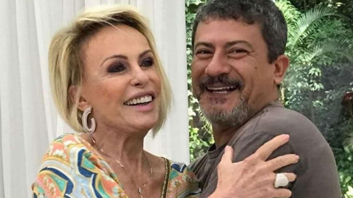 Tom Veiga e Ana Maria Braga no Mais Você; morte do intérprete de Louro José virou mistério (Foto: Reprodução/Instagram)