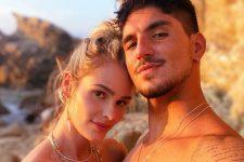 Yasmin Brunet e Gabriel Medina; modelo mandou indiretas após declaração de Simone Medina (Foto: Reprodução/Instagram)