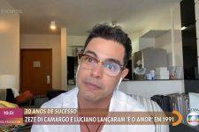 Zezé Di Camargo no Encontro (Reprodução)