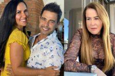 Zezé Di Camargo e Graciele Lacerda; Zilu Godoi