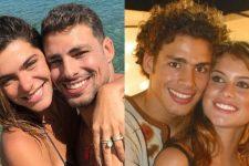 Cauã Reymond e Alinne Moraes