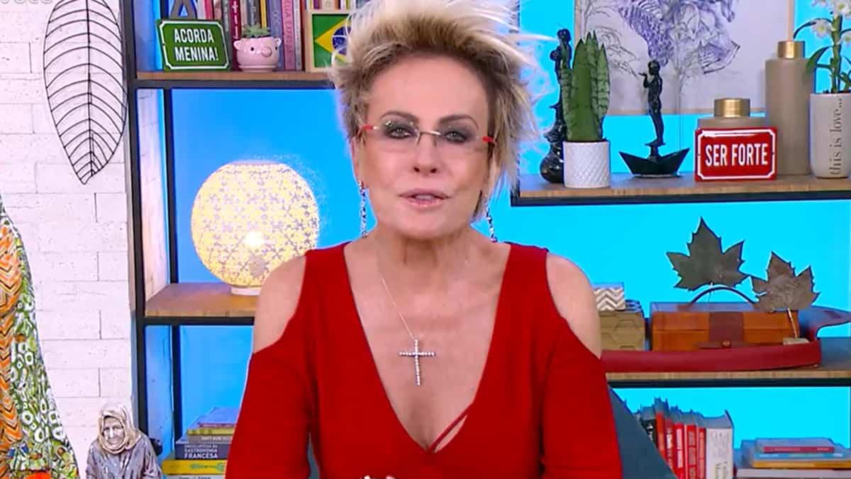 Ana Maria Braga encantou internautas com clique raro do filho, Pedro Maffei (Foto: Reprodução/TV Globo)