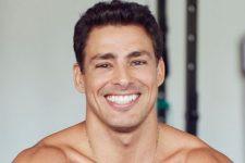 Cauã Reymond surgiu descamisado durante treino (Foto: Reprodução/Instagram)