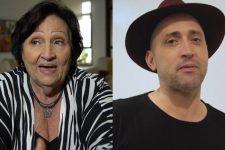 Déa Amaral e Paulo Gustavo; mãe do ator fez homenagem no Dia do Orgulho Gay (Foto: Reprodução/TV Globo)
