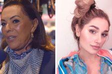 Beth Szafir e Sasha Meneghel; filha de Xuxa não convidou avó para seu casamento (Foto: Reprodução)
