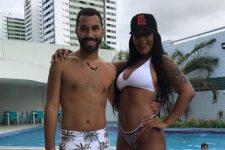 Gil do Vigor e a irmã, Janielly Nogueira