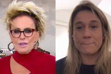 Ana Maria Braga rebateu comentário de Fernanda Gentil ao vivo no Mais Você (Foto: Reprodução/TV Globo)