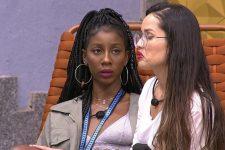 Camilla de Lucas disse que Juliette não está em grupo de mensagens e que sister não será aceita (Foto: Reprodução/TV Globo)