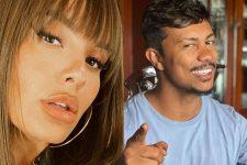 Ex-BBB Thaís Braz e rapper Xamã (Reprodução)