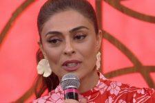 Juliana Paes criticou demissão de Evaristo Costa da CNN Brasil (Foto: Reprodução/TV Globo)