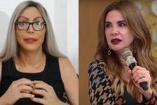 Luisa Marilac entregou armação contra Agnaldo Timóteo no programa de Luciana Gimenez (Foto: Reprodução/RedeTV)