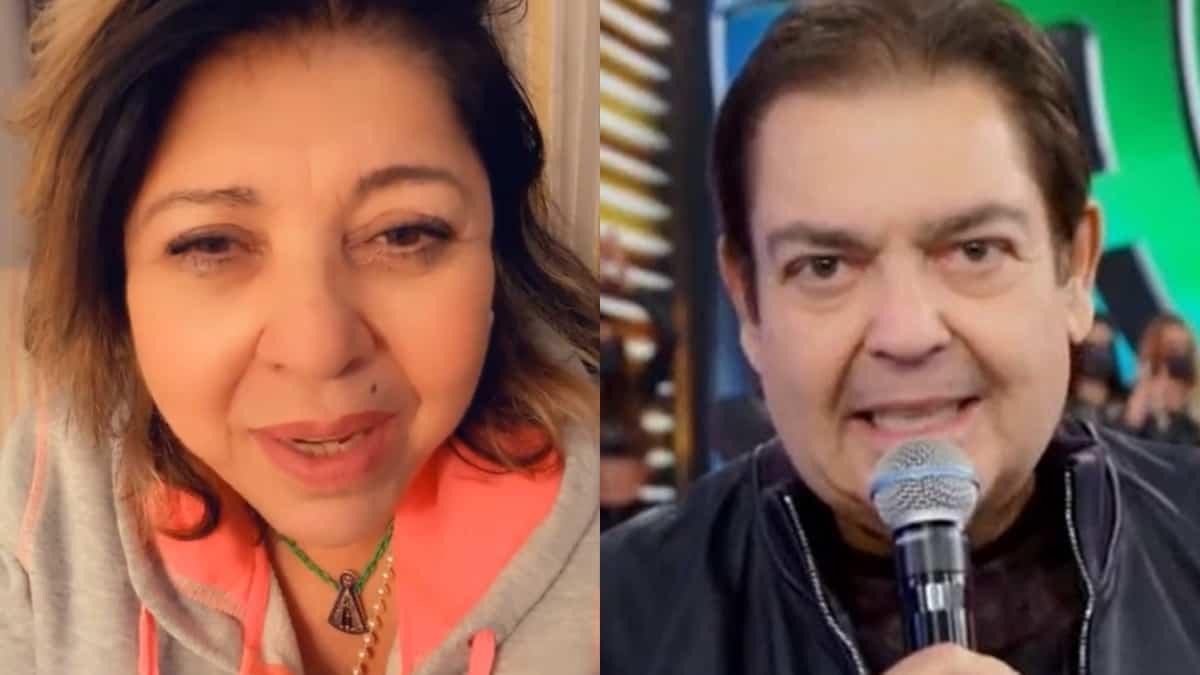 Roberta Miranda ficou triste com saída repentina de Faustão da Globo e mandou recado (Foto: Reprodução/Instagram/TV Globo)