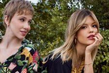 Marcella Rica e Vitória Strada protagonizaram beijaço e se declararam na web (Foto: Reprodução/Instagram)