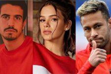 Enzo Celulari, Neymar e Bruna Marquezine