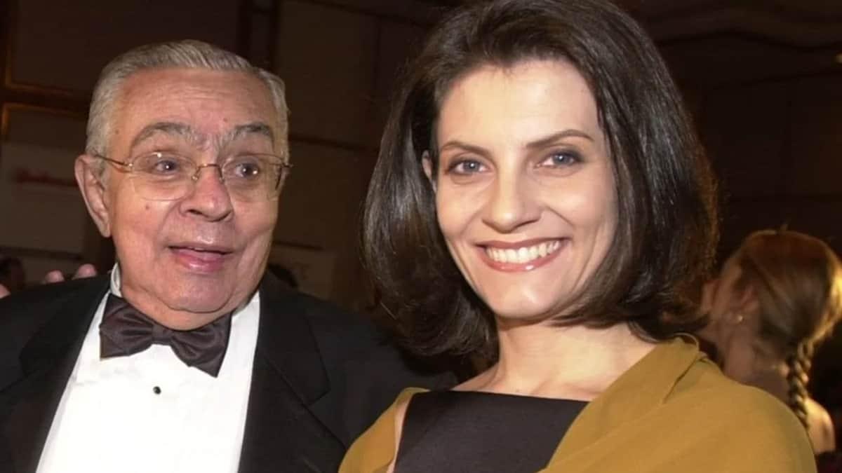 Chico Anysio e Malga Di Paula; viúva do humorista tem estado de saúde delicado (Foto: Reprodução)