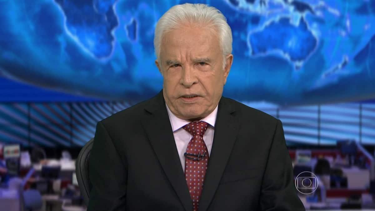 Cid Moreira é acusado de abandono por filho biológico (Foto: Reprodução/TV Globo)