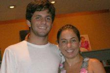 Cissa Guimarães e o filho, Rafael Mascarenhas, que morreu atropelado (Foto: Reprodução/Instagram)