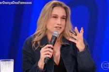 Fernanda Gentil no júri da Super Dança dos Famosos; apresentadora relembrou Faustão (Foto: Reprodução/TV Globo)