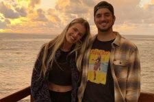 Gabriel Medina e Yasmin Brunet juntos (Foto: Reprodução/Instagram)