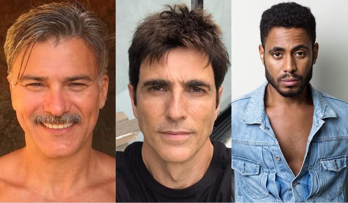 Leonardo Vieira, Reynaldo Gianecchini e Ícaro Silva (Reprodução)