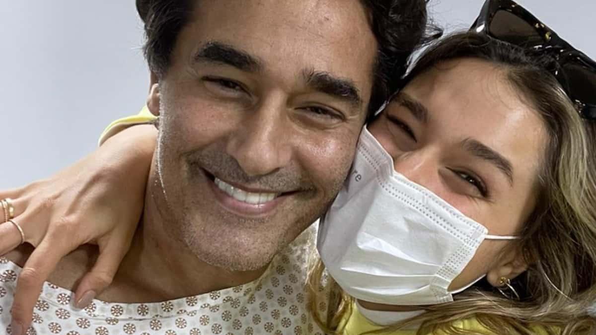 Luciano Szafir e a filha, Sasha Meneghel (Foto: Reprodução/Instagram)