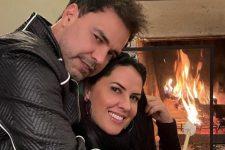 Zezé Di Camargo e Graciele Lacerda comemoraram vitória na Justiça contra Zilu (Foto: Reprodução/Instagram)