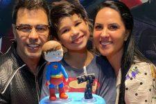Zezé Di Camargo e Graciele Lacerda no aniversário do filho de Wanessa Camargo (Foto: Reprodução/Instagram)