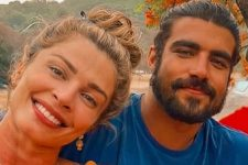 Grazi Massafera e Caio Castro em momento juntos; ator deixou indireta após término (Foto: Reprodução/Instagram)