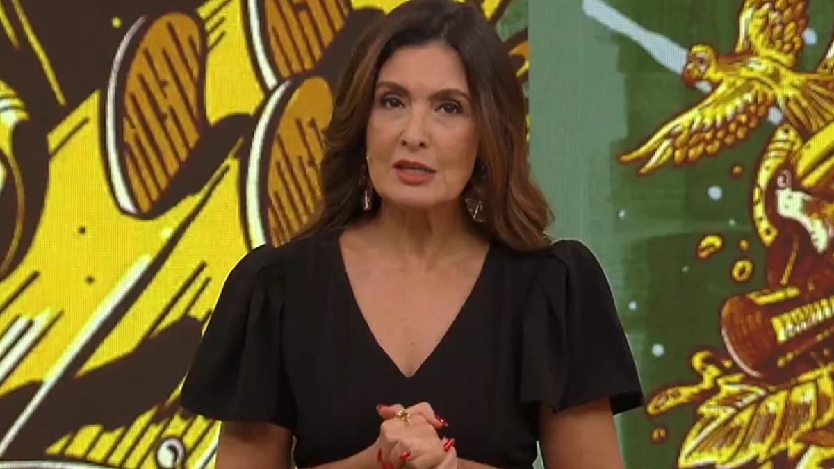 Fátima Bernardes no comando do Encontro; apresentadora fica afastada até segunda ordem (Foto: Reprodução/TV Globo)