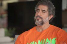 Marcos Mion em entrevista ao Fantástico deste domingo (15), na Globo (Foto: Reprodução/TV Globo)