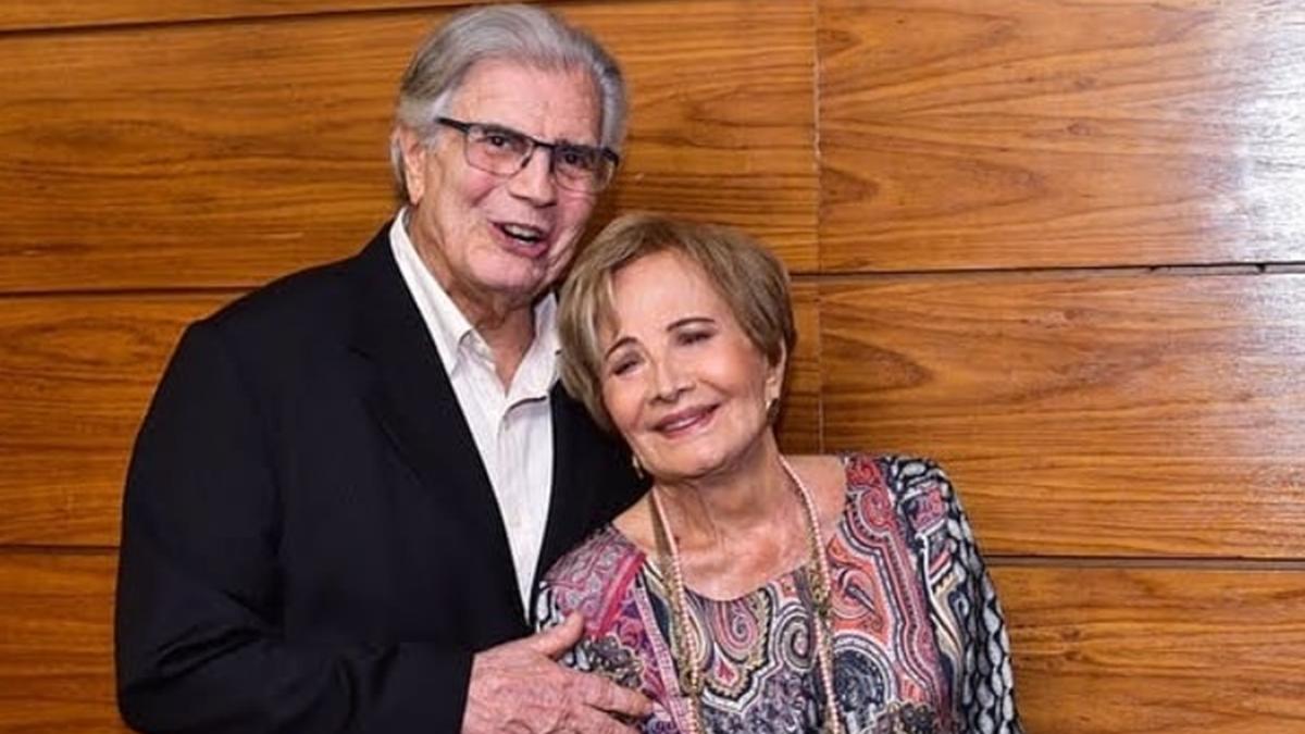 Tarcísio Meira e Glória Menezes; nora do ator relembrou passado e fez promessa (Foto: Reprodução/Instagram)