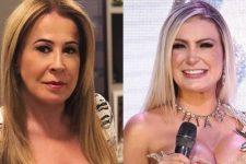 Zilu Godoi ostentou corpaço e Andressa Urach mostrou parte íntima do marido como inspiração (Foto: Reprodução/Instagram)